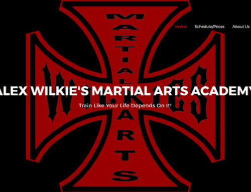 Responsive Design for Alex Wilkie's Martial Arts Academy